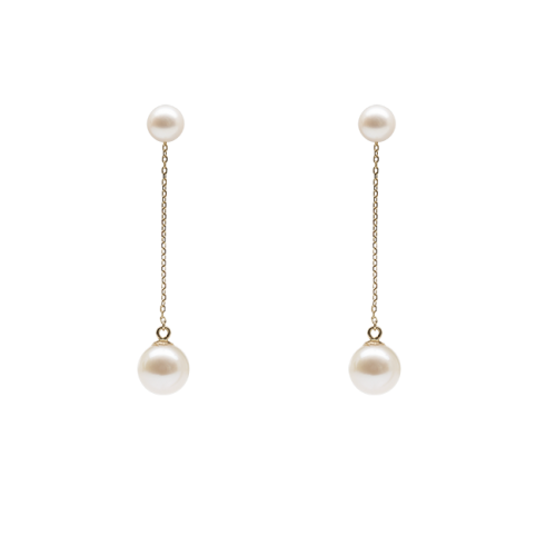 Mermaid Pearl Earrings (2 looks)
