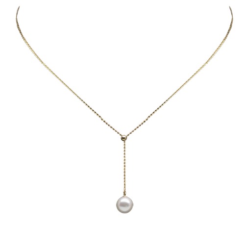 Mermaid Pearl Necklace (adjustable)