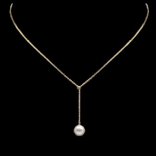 Mermaid Pearl Necklace (adjustable)