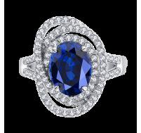 Starlight Sapphire Ring