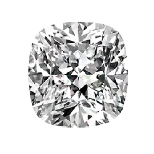 Cushion Cut White Diamond