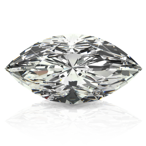 Marquise Cut White Diamond