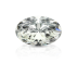 Oval Cut White Diamond