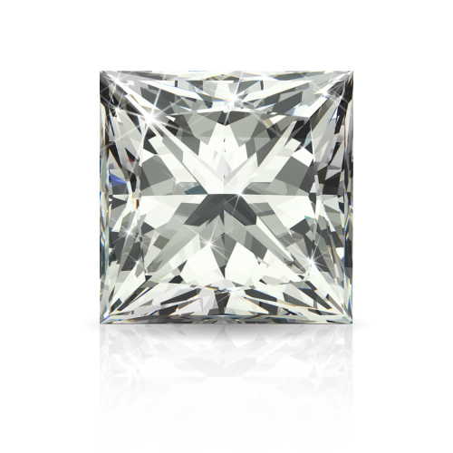 Princess Cut White Diamond